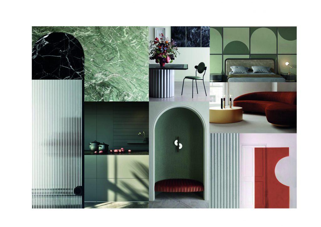 Ophélie Ribeyre article mon meublé projet aménagement moodboard couleurs fortes du projet présenté pourquoi debenir architecte d'intérieur