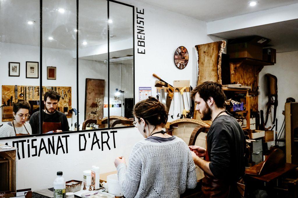 L'atelier aux 4 mains - professionnel - restauration mobilier