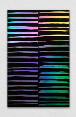 peinture tribale effet holographique peinture qui change de couleur avec la lumière