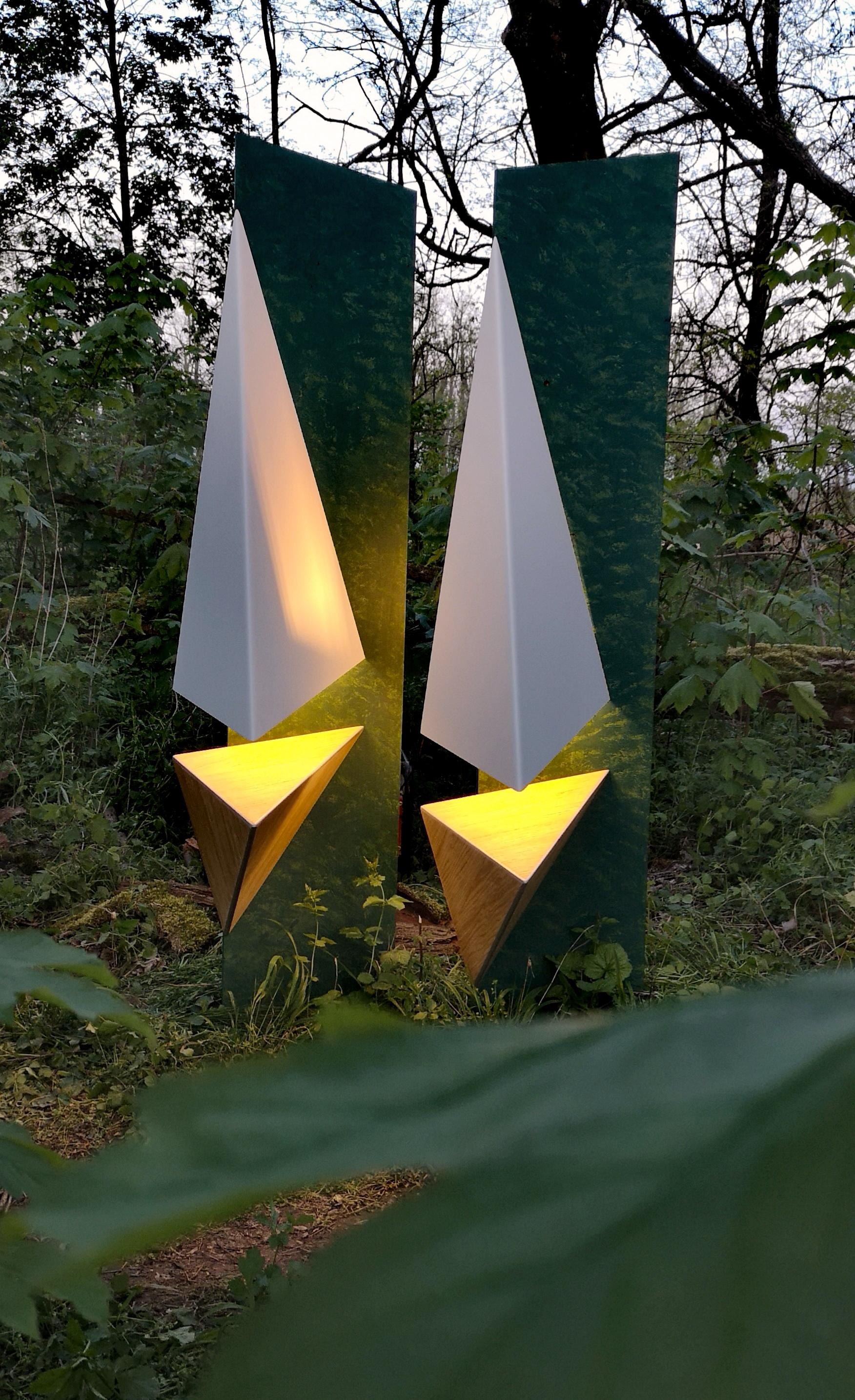 Luminaire - Sven Rusti Design - Scalènes