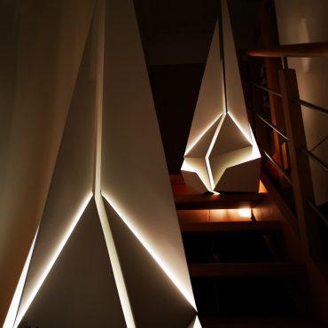 Sven Rusti Design – Luminaire – Voilier