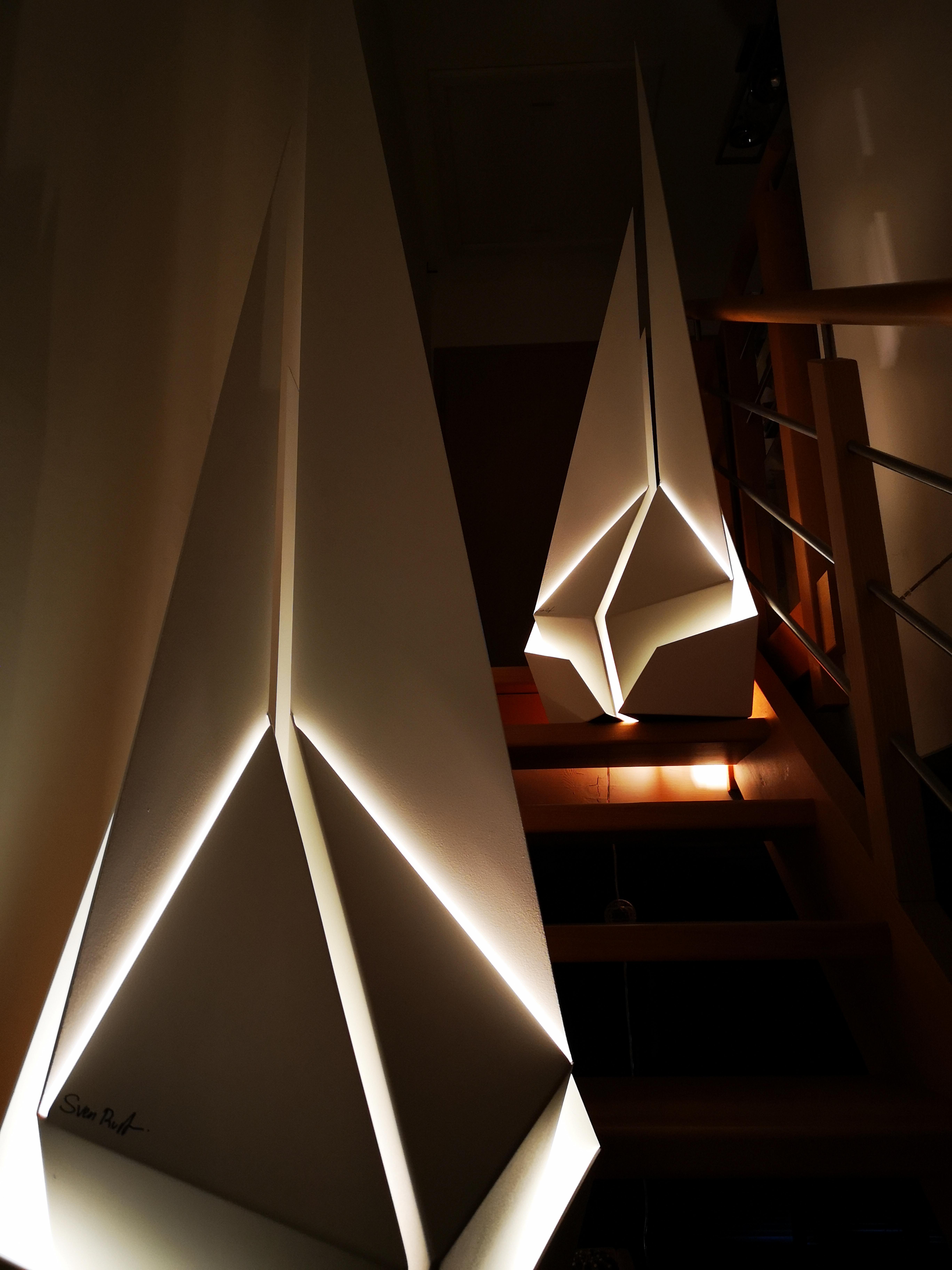 Sven Rusti Design - Luminaire - Voilier