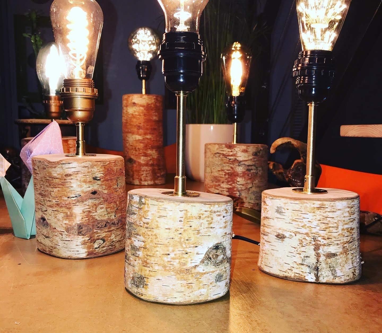 Luminaires - LUZANDWOOD – Lampes Bouleau