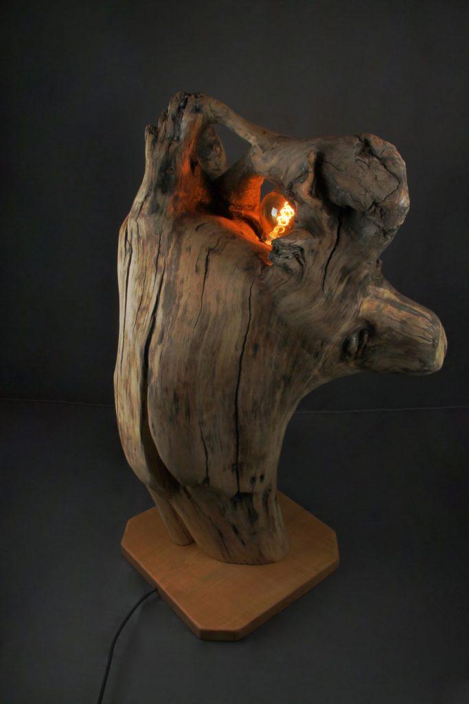 Aube de la Nature Travail du bois grenoble Artiste libre Sbands