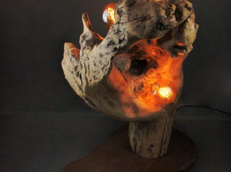 Luminaire – Sbands – Cœur de pierre