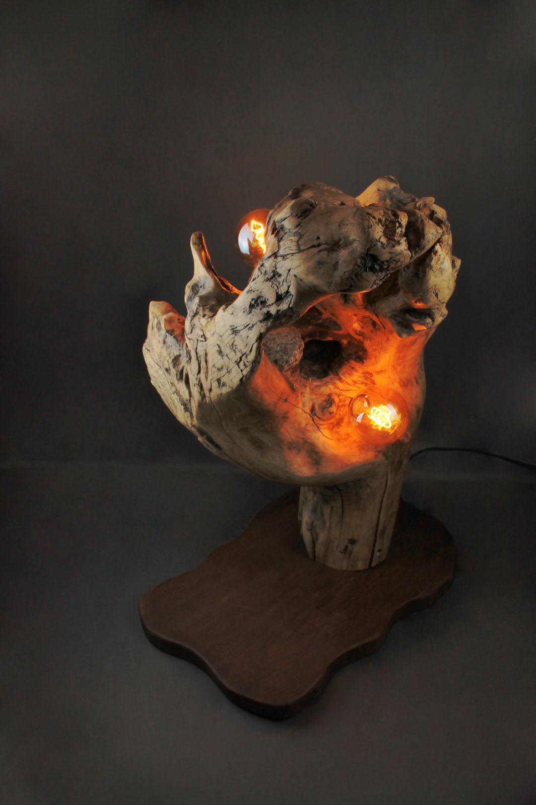 Luminaire - Sbands - Cœur de pierre