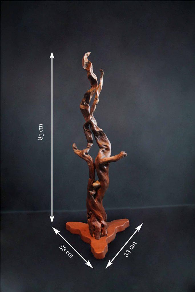 objet de décoration intérieur création originale artisanale Grenoble Artiste Sbands volutes