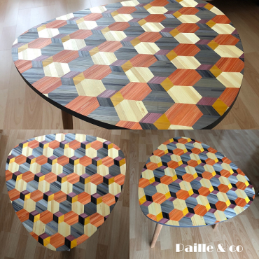 Table d'appoint – Paille&Co