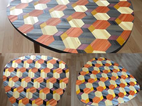 Table d'appoint – Paille&Co