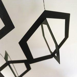 Lysmobile mobile décoration artistique en papier ou en carton