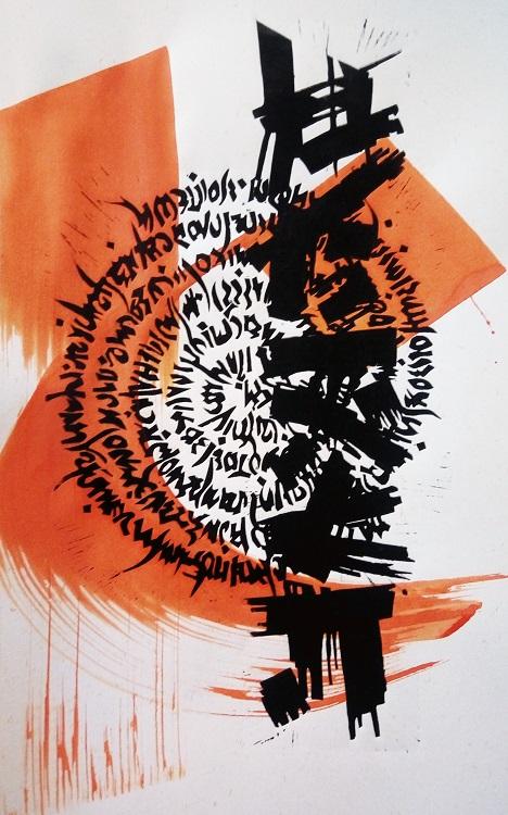Calligraphie et gravure - Atelier Marie Thivrier