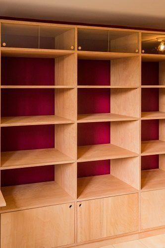 Ébéniste agencement intérieur mobilier bois massif sur-mesure Drôme table style Louis XV bibliothèque pour BD