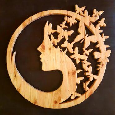 Sculpture bois Mandalas – InWOODVeritas