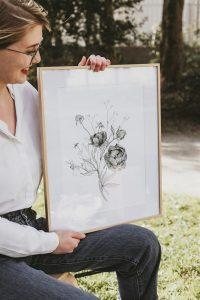 Illustration motif végétal – Anaëlle Blayo